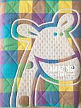 Дитяче ковдру | простирадло | плед натуральний | льон , бавовна | Дитяче літнє одіяло, простинь. Розмір 110*110см., фото 6