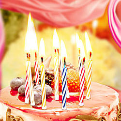 Свічки на торт