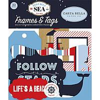 Висічки - Frames & Tags - Deep Blue Sea - Carta Bella