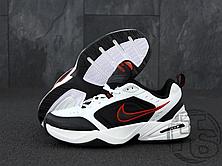 Мужские кроссовки Nike Air Monarch IV White/Black/Red 415445-101, фото 3