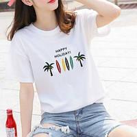 Женская футболка. Модель 757