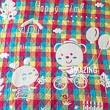 Детское одеяло   простынь   плед натуральный   лен , хлопок   Дитяче літнє одіяло, простинь. Розмір 110*110см.