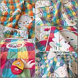 Дитяче ковдру   простирадло   плед натуральний   льон , бавовна   Дитяче літнє одіяло, простинь. Розмір 110*110см., фото 4