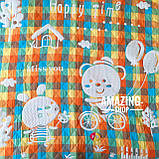 Дитяче ковдру   простирадло   плед натуральний   льон , бавовна   Дитяче літнє одіяло, простинь. Розмір 110*110см., фото 2
