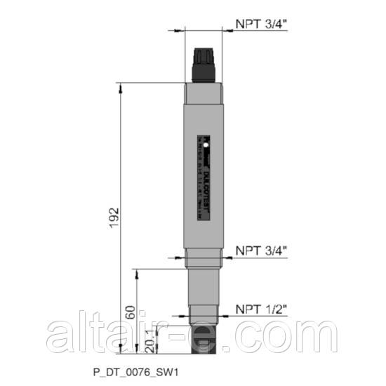 Датчик pH PHEI 112 SE для промышленных сточных вод