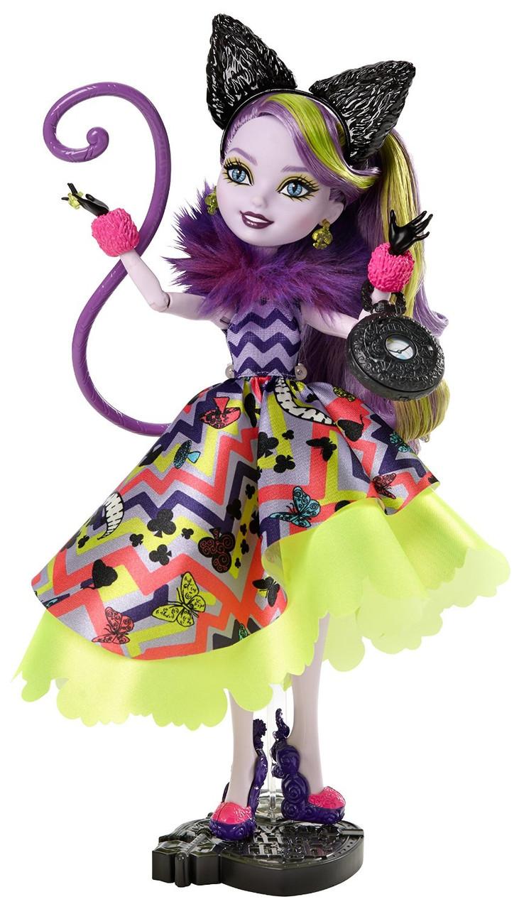 Кукла Эвер афтер хай  Китти Чешир Дорога в Страну Чудес перевыпуск(Way Too Wonderland Kitty Chesire Doll)