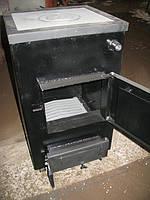Твердотопливный котел с варочной поверхностью Gratis-Flame Максим-К12 кВт.