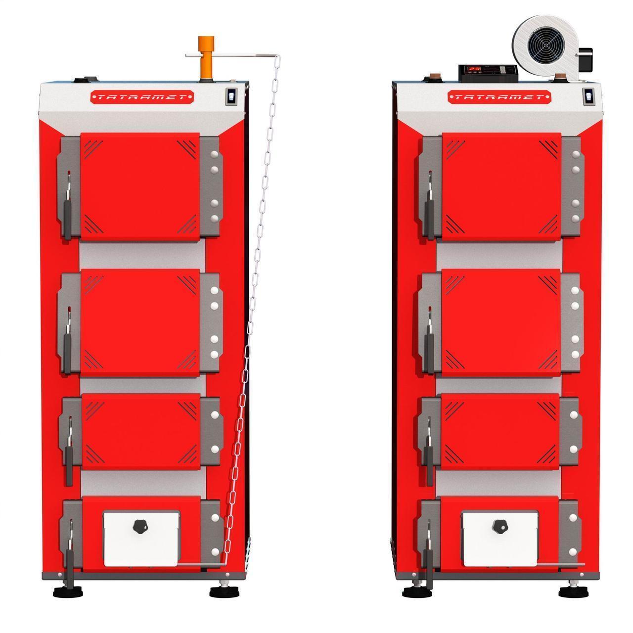 Твердопаливний котел з ручним завантаженням палива TATRAMET SPARTAK Classic (ТАТРАМЕТ СПАРТАК КЛАСИК) 43 кВт