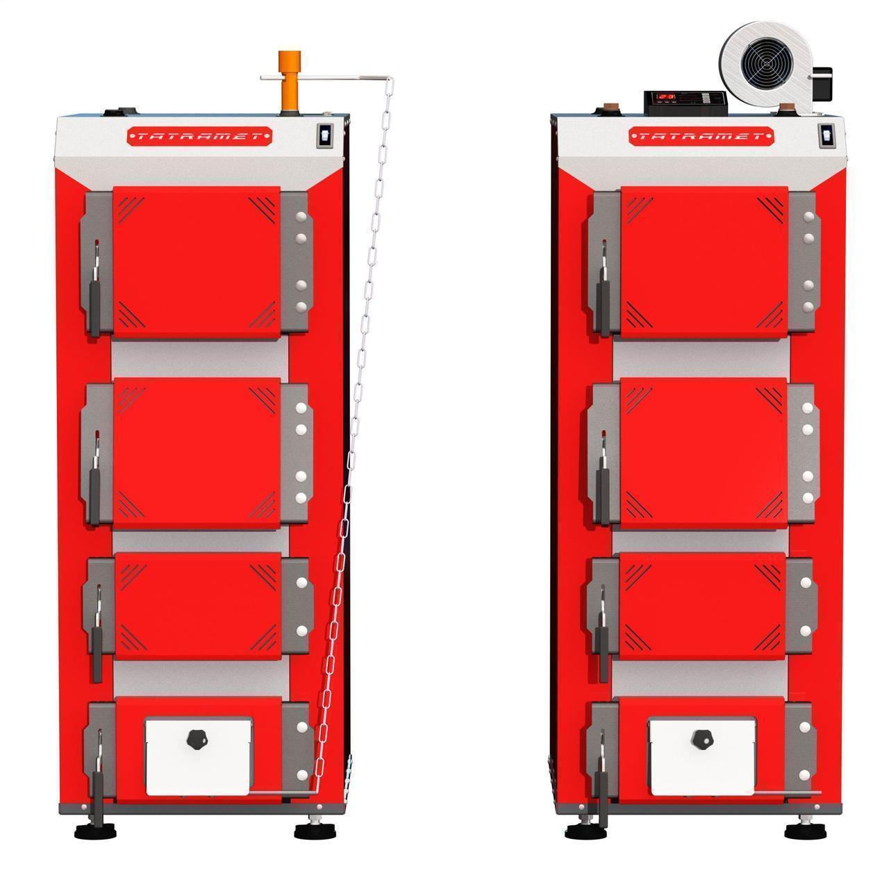 TATRAMET SPARTAK Plus (СПАРТАК ПЛЮС) 43 кВт котел с электронным блоком управления (TECH ST-24 sigma + WPA120)