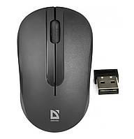 Мышка компьютерная DEFENDER Datum MM-285 Wireless Black