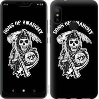 Чехол EndorPhone на Xiaomi Redmi 6 Pro Sons of Anarchy v1 2510c-1595-18675 (hub_IgpE99778)