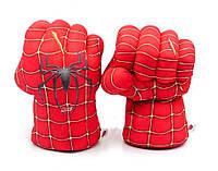 Перчатки Руки Человека Паука Красный (123532)