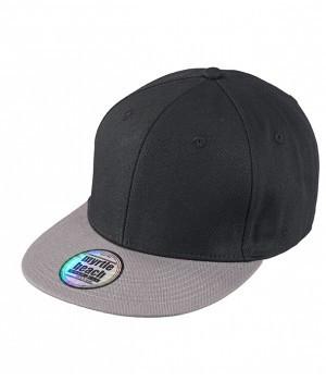 Черная кепка с серым козырьком мужская летняя