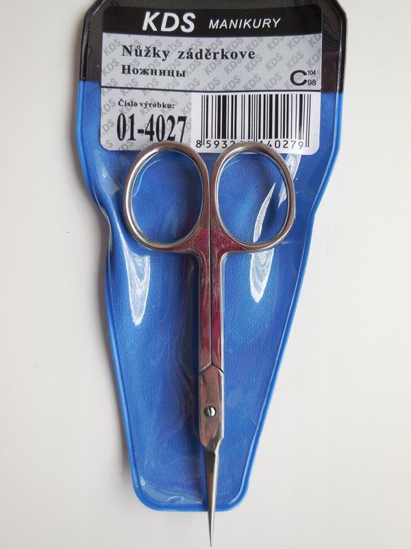 Ножницы для кутикулы KDS 01-4027 рисунок 4