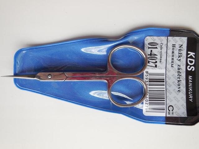 Ножницы для кутикулы KDS 01-4027 рисунок 5