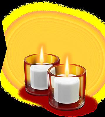 Свечи столовые оптом