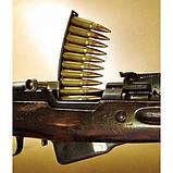 Зарядні планки, обойми (5 штук) на 10 патронів 7.62х39 для СКС (оригінал СРСР), фото 3