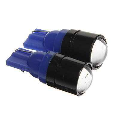 Светодиодная автолампа T10 W5W 1.5W 12V 150lm COB синий