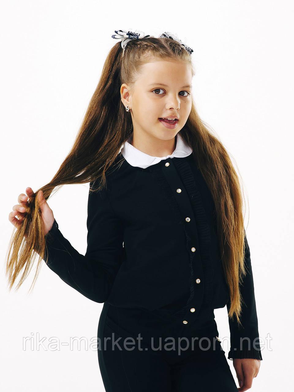 Школьный жакет для девочки, ТМ Смил, 116412, возраст 11  лет