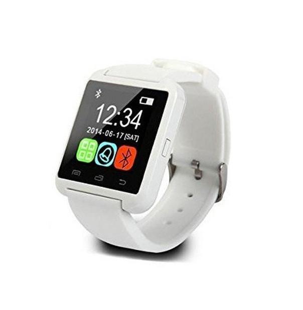Смарт-часы Smart Watch U8 Белые (hub_CfBx58551)