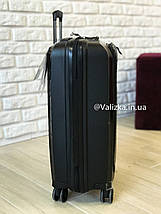 Чемодан из полипропилена пластиковый с отделением для ноутбука Airtex Франция / Якісна валіза з поліпропілену , фото 2