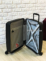 Чемодан из полипропилена пластиковый с отделением для ноутбука Airtex Франция / Якісна валіза з поліпропілену , фото 3