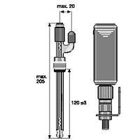 Датчик pH PHEN 112 SE 3D  с возможностью пополнения электролита