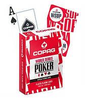 Карты для игры в покер Cartamundi Copag WSOP Красные krut06952, КОД: 258517