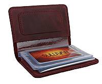 Обложка для водительских документов прав удостоверений SULLIVAN odd3(5) марсала