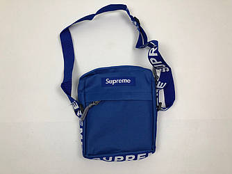 Барсетка Supreme - синя