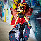 Кукла  Монстер Хай Луна Мотьюс Бу Йорк (Boo York Gala Ghoulfriends Luna Mothews Doll), фото 5