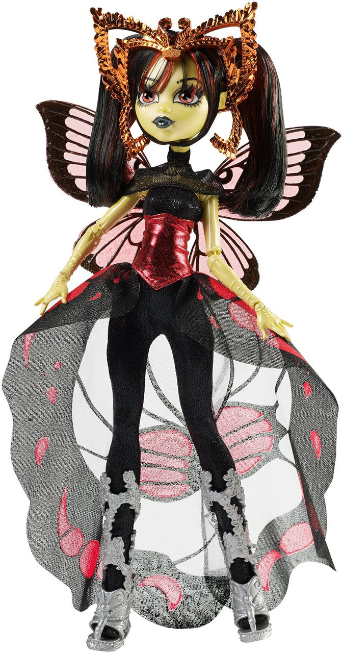 Кукла  Монстер Хай Луна Мотьюс Бу Йорк (Boo York Gala Ghoulfriends Luna Mothews Doll)
