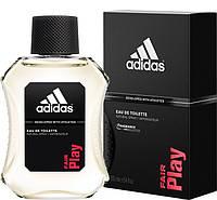 Мужская туалетная вода Fair Play Adidas (интенсивный, заряжающий энергией аромат)