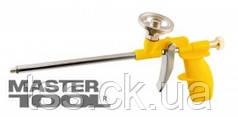 MasterTool  Пистолет для монтажной пены 290 мм, пластиковый корпус, металлический баллоноприемник, Арт.: 81-8674