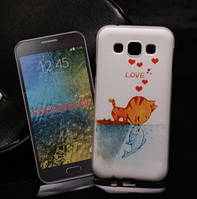 Чехол с рисунком для Samsung Galaxy E5 E500 E500F