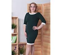 """Платье-футляр """"Тиффани"""": большие размеры, фото 1"""