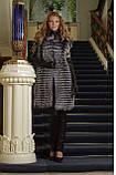 жилет жилетка з чорнобурки silver fox fur vest, фото 3