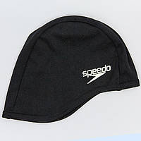 Шапочка для плавания SPEEDO POLYESTER CAP (черный)