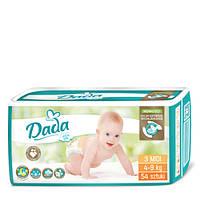 Подгузники DADA  Extra Soft MIDI 3, 4-9 кг, 54 штук
