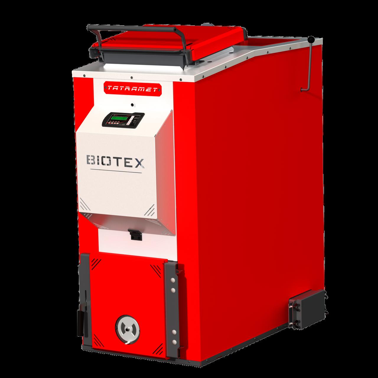 Котлы длительного нижнего горения с верхней загрузкой TATRAMET BIOTEX  (ТАТРАМЕТ БИОТЕКС) 50 кВт