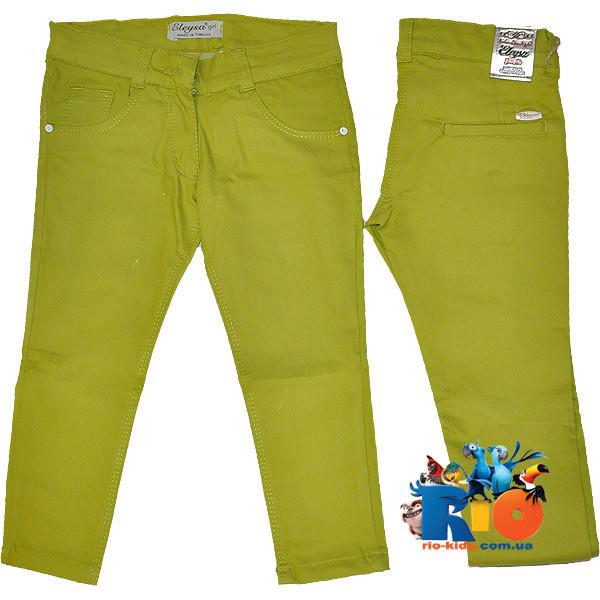 """Летние легкие брюки """"Eleysa Summer Wear"""" , коттон , для девочек от 13-14/16-17 лет (2 ед. в уп.)"""