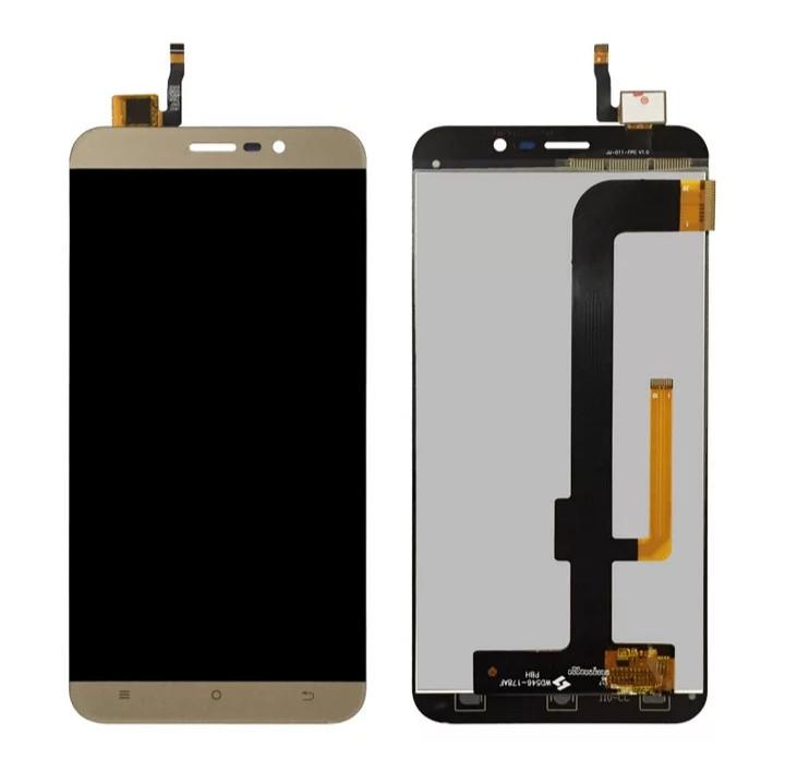 LCD екран із сенсором для Cubot Note S Золотий