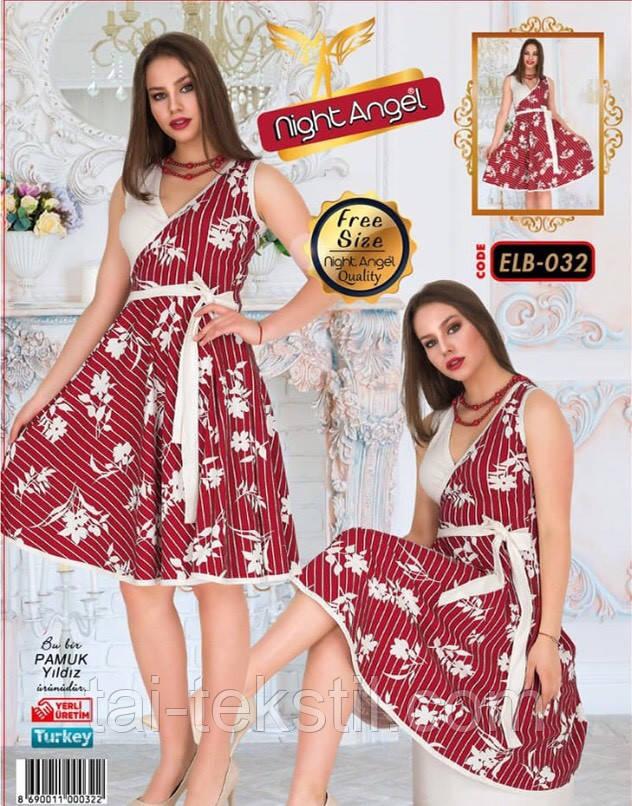 Молодежное платье свободного размера Турция (46-50р) Night Angel 032