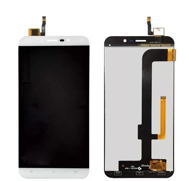 LCD екран із сенсором для Cubot Note S Білий
