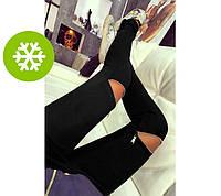 """Теплые леггинсы больших размеров """"Jenifer"""": 48, 50 р., фото 1"""