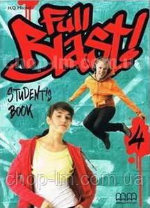 Full Blast 4 Students Book with Culture Time for Ukraine / Учебник