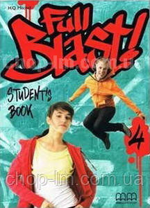 Full Blast 4 Students Book with Culture Time for Ukraine / Учебник, фото 2