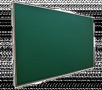 Доска одинарная магнитная, в деревянной окантовке 1500x1000 мм