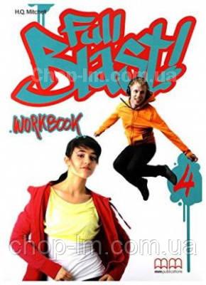 Full Blast! 4 Workbook with CD / Рабочая тетрадь с диском