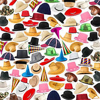 Головные уборы, шапки и аксесуары